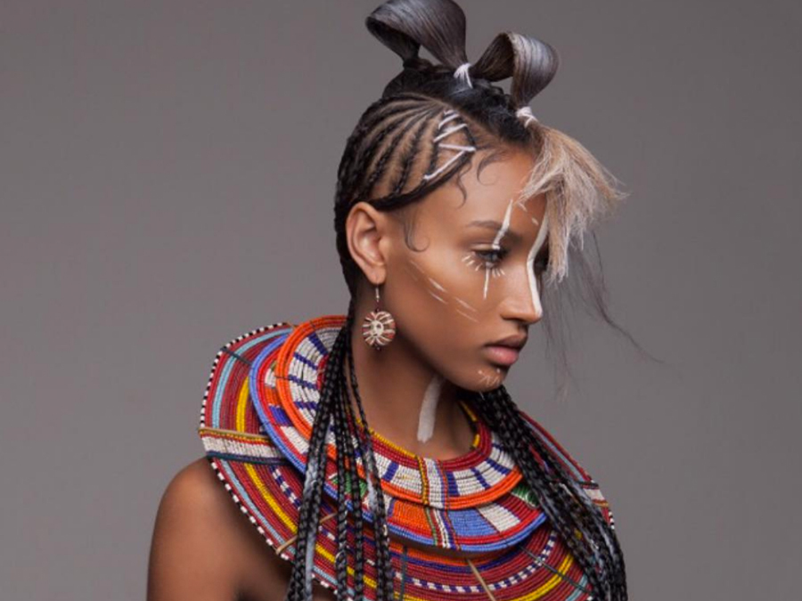 These Striking African-Inspired Hair Looks Are Works Of Art
