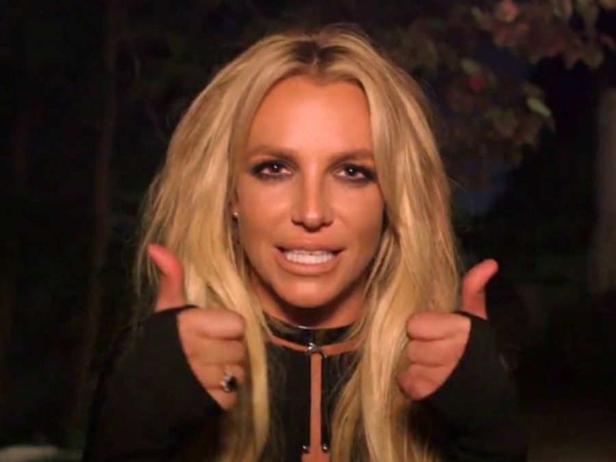 """Britney Spears Pranks Jimmy Kimmel With A Bedside Performance of """"Make Me"""""""