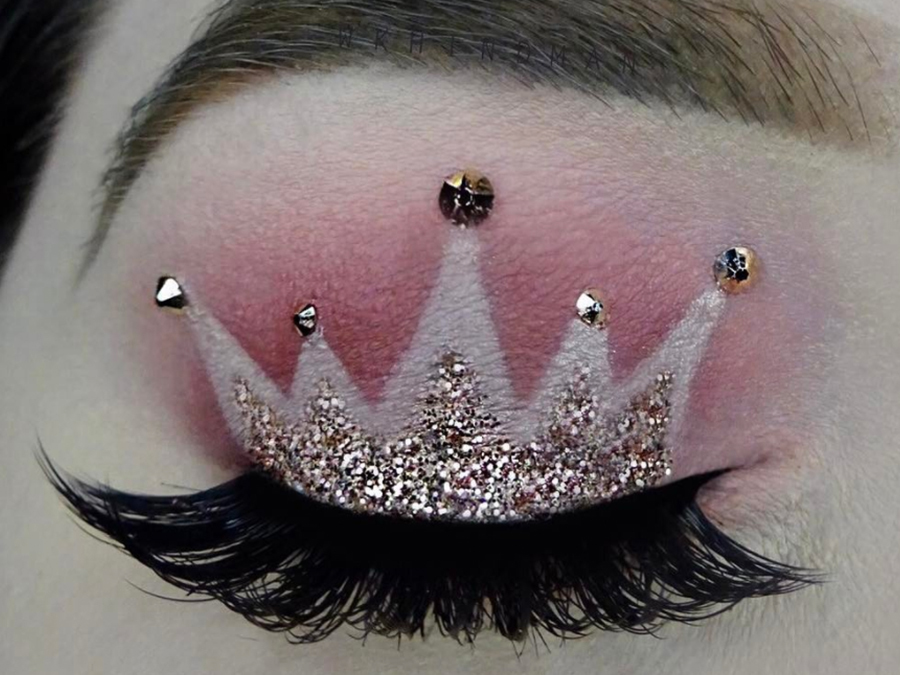 Princess Crown Makeup Is The Most Regal Trend Right Now