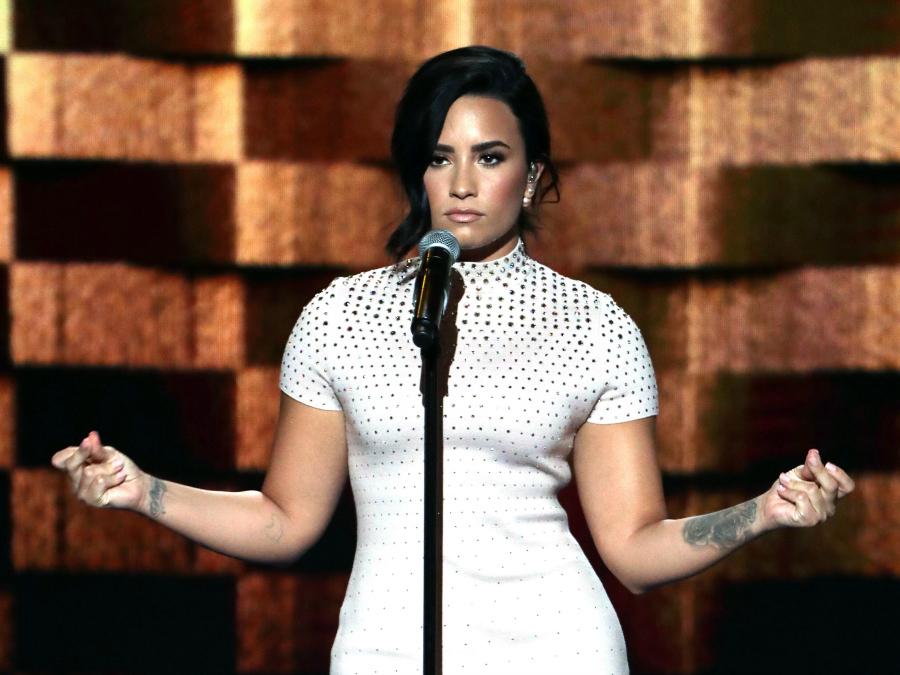 Demi Lovato Just Got Real About Mental Illness During DNC Speech