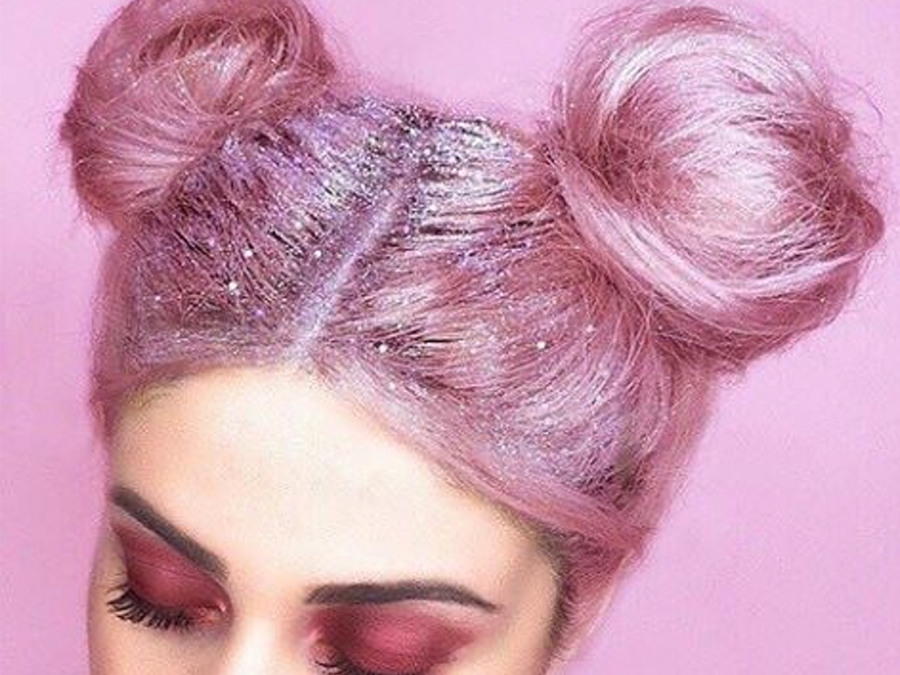 This New Glitter Roots Trend Is Bringing The Party To Your Part
