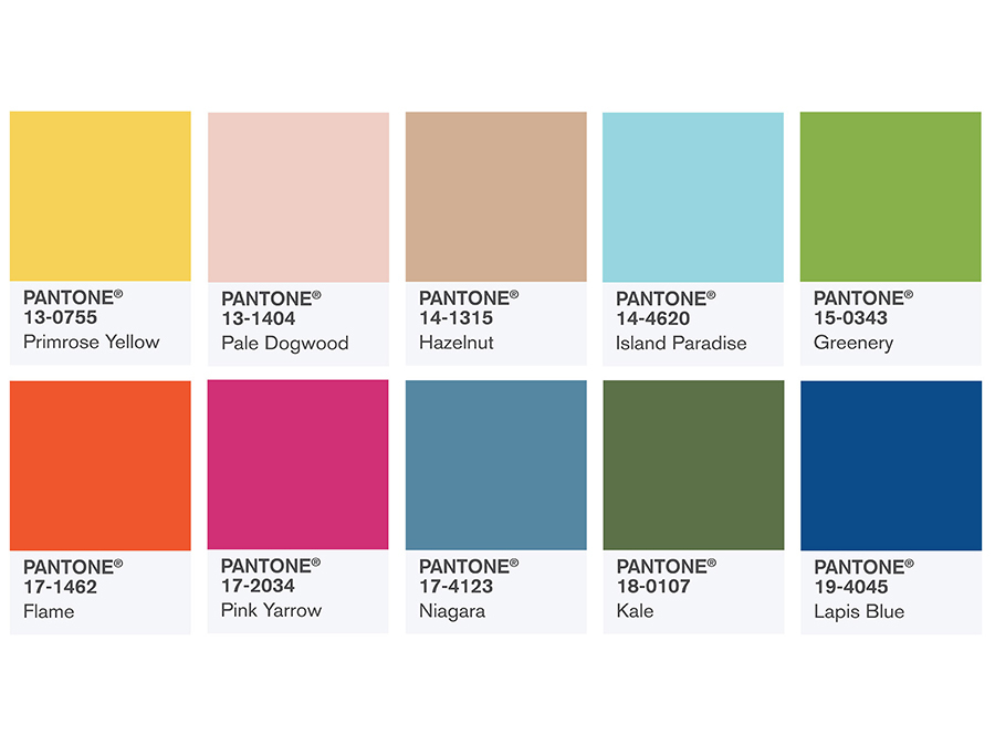 Your Closet Needs Pantone's New Spring Color Palette Right Now