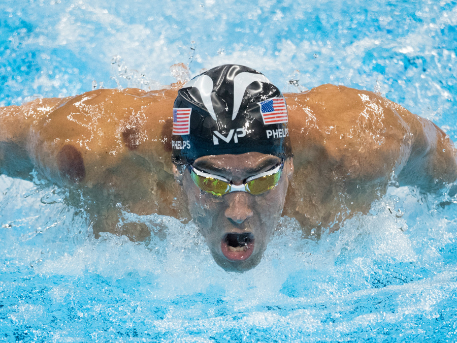 Michael Phelps' Game Face Just Became A Meme and it is EVERYTHING