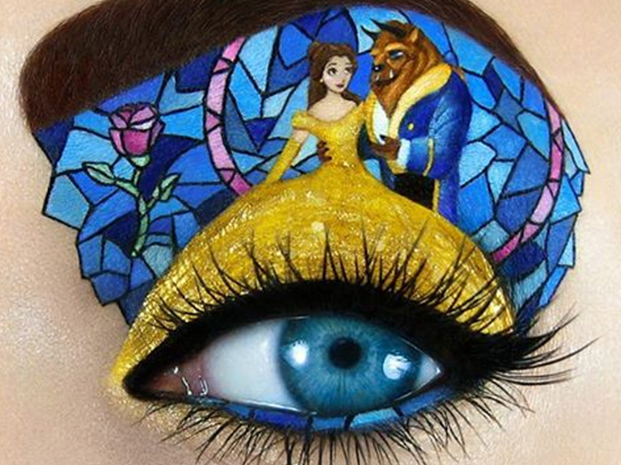 You Won't Be Able To Look Away From Tal Peleg's Amazing Eye Makeup