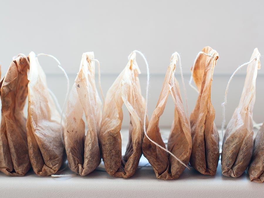 16 Unique Uses for Used Tea Bags