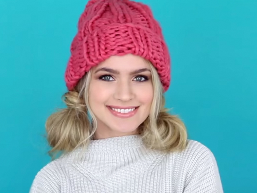 Winter Hat Hairstyles Every Beauty Vlogger Is Talking About