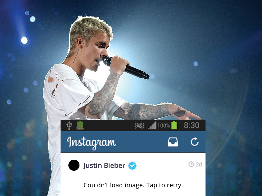 Justin Bieber Officially Deleted His Instagram, Isn't Sorry in the Least