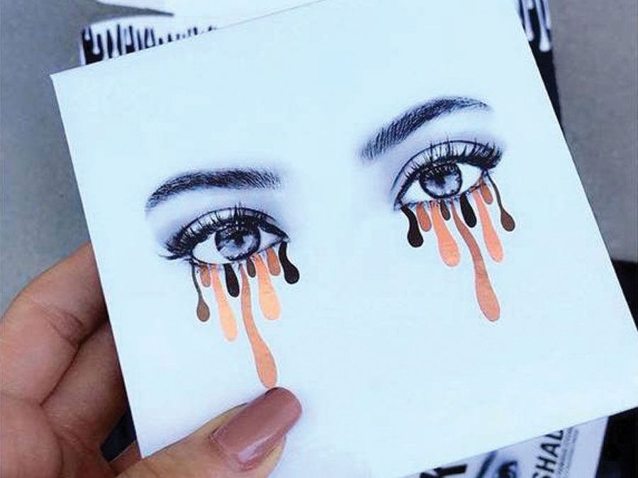ATTN: Kylie Jenner's First Eyeshadow Palette Will Blow Your Mind