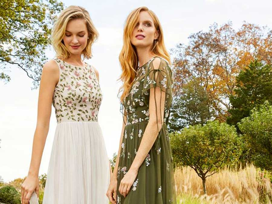 Adrianna Papell Is Having A Sale Just In Time For All Your Summer Weddings