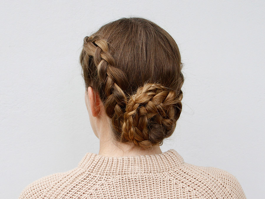 How to Create a Braided Chignon