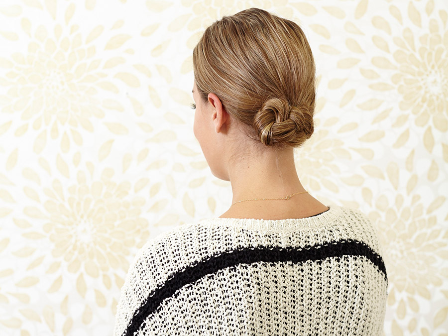Braided Chignon: The 5-Minute Updo You've Been Waiting for
