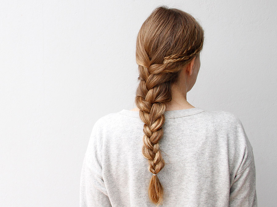 We'll Show You How to Nail this Easy Twist on the French Braid