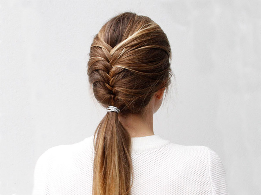 Try This Pretty, Sophisticated French Fishtail Braid