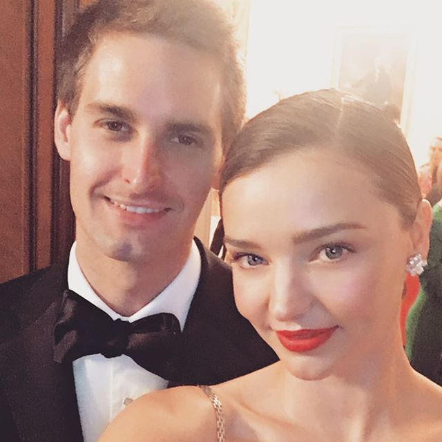 Miranda Kerr and Snapchat CEO Evan Spiegel are TYING THE KNOT!