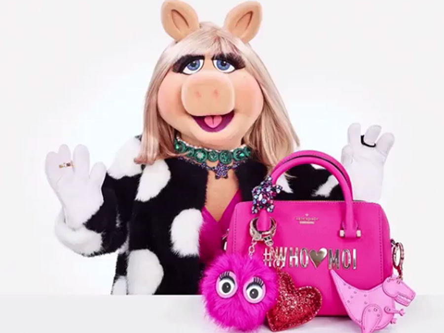 Miss Piggy's Kate Spade New York Collection Is Fierce AF