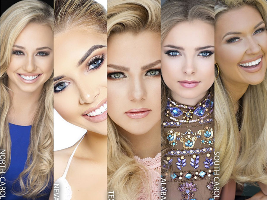 The Top 5 Miss Teen USA Contestants Look Identical