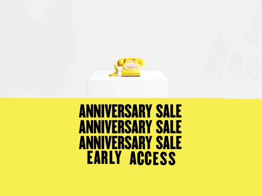 Score Deals Before Everyone Else With Nordstrom Anniversary Sale Early Access