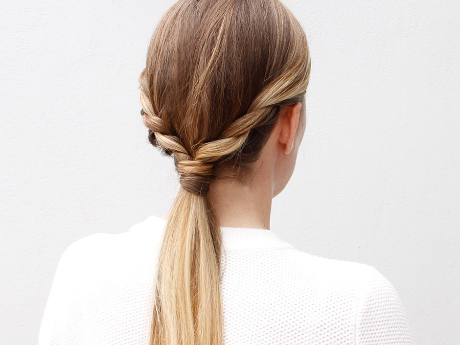 Trade in Your Everyday Hairstyle for this Ponytail with a Twist