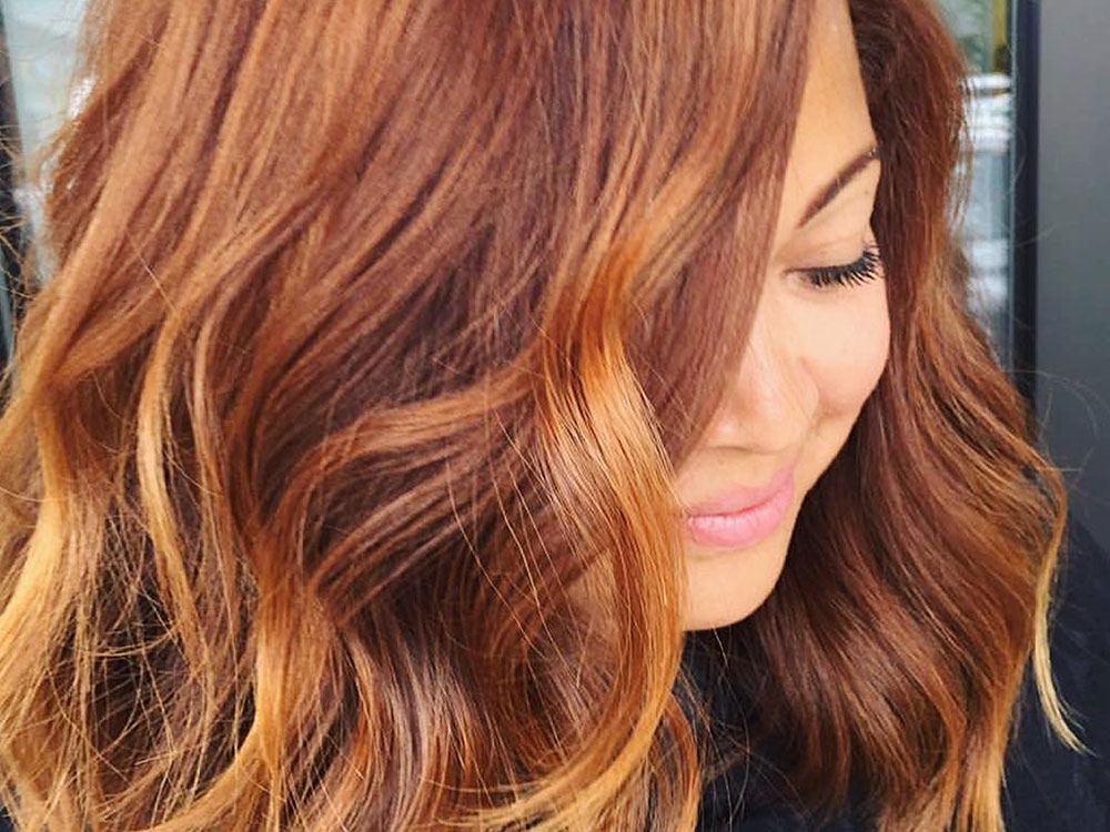 Pumpkin Spice Hair Is Officially A Trend, And We're Obsessed