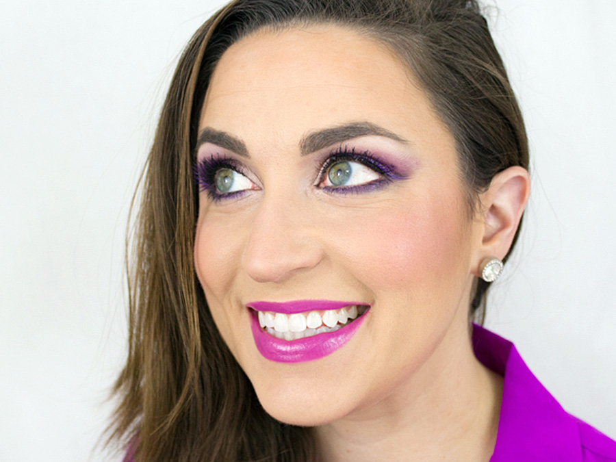 Amp Up the Color with this Radiant Orchid Makeup Look