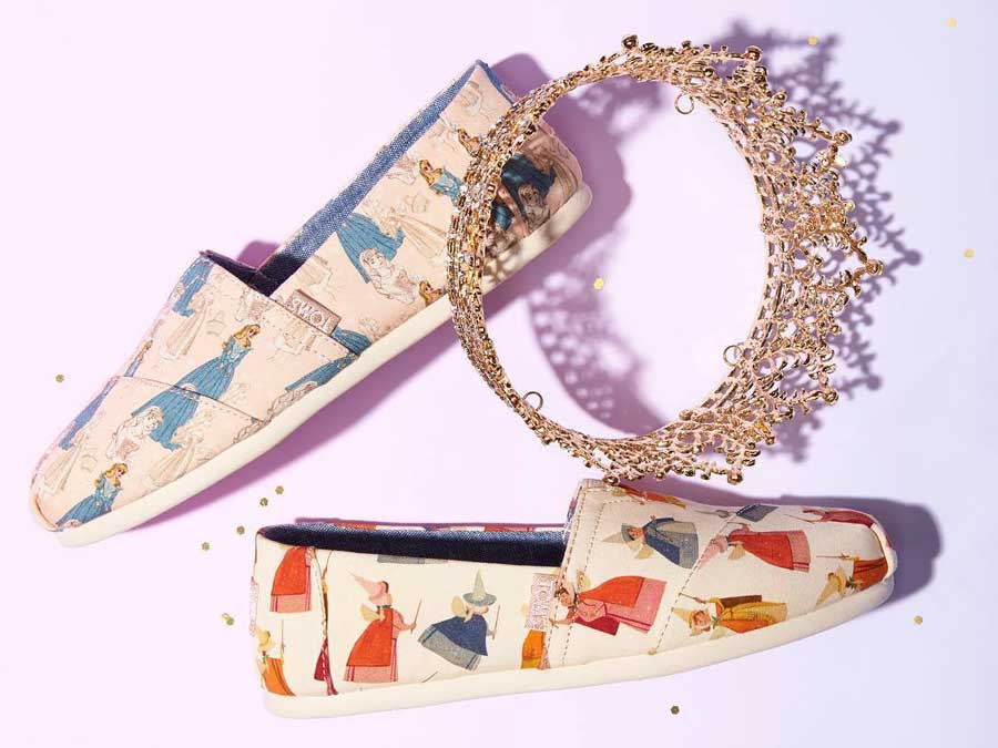 TOMs and Disney Are Teaming Up For A Magical Shoe Collection