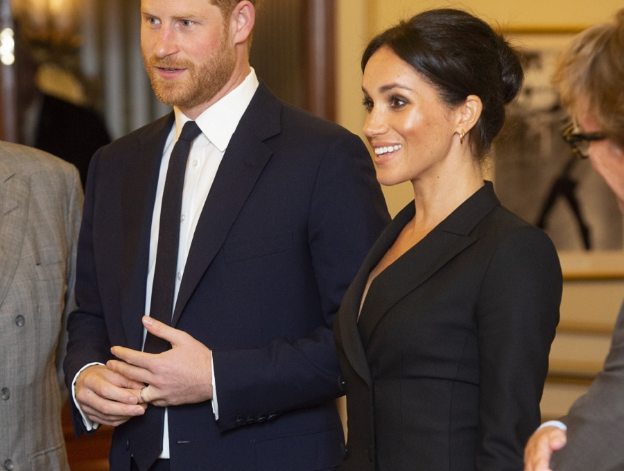 Meghan Markle Slayed A Tuxedo Dress, So It's Time To Trade In Your LBD