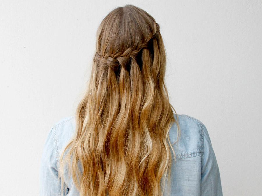 How to Create a Waterfall Braid That Wows