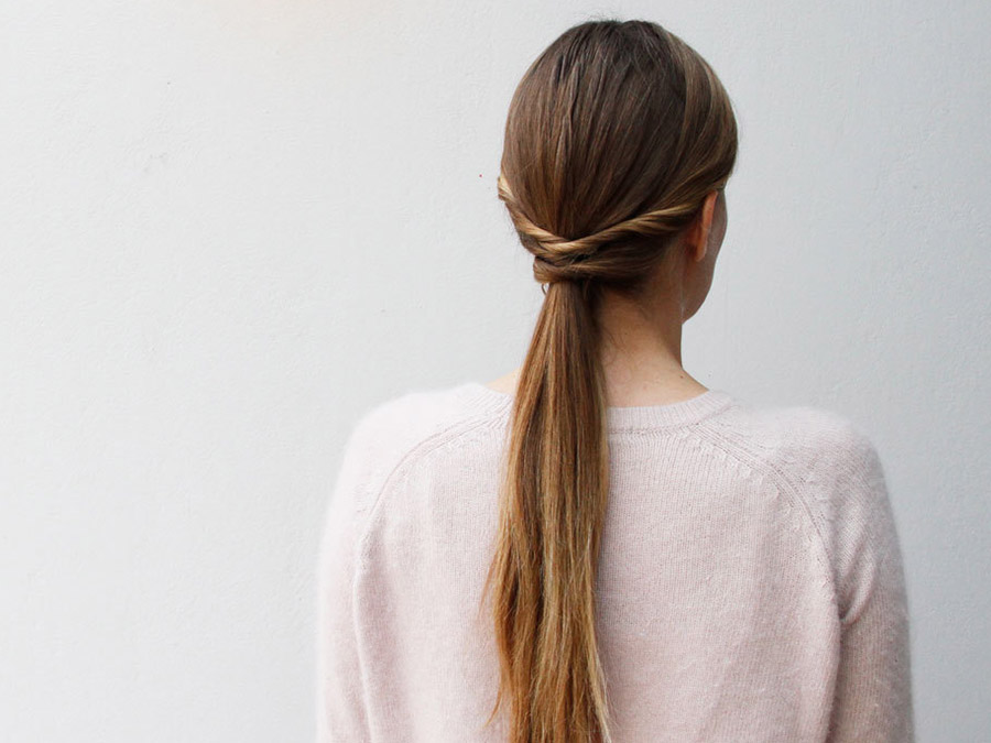 My Pretty Ponytail: Try This Quick, Easy Twist on Tradition
