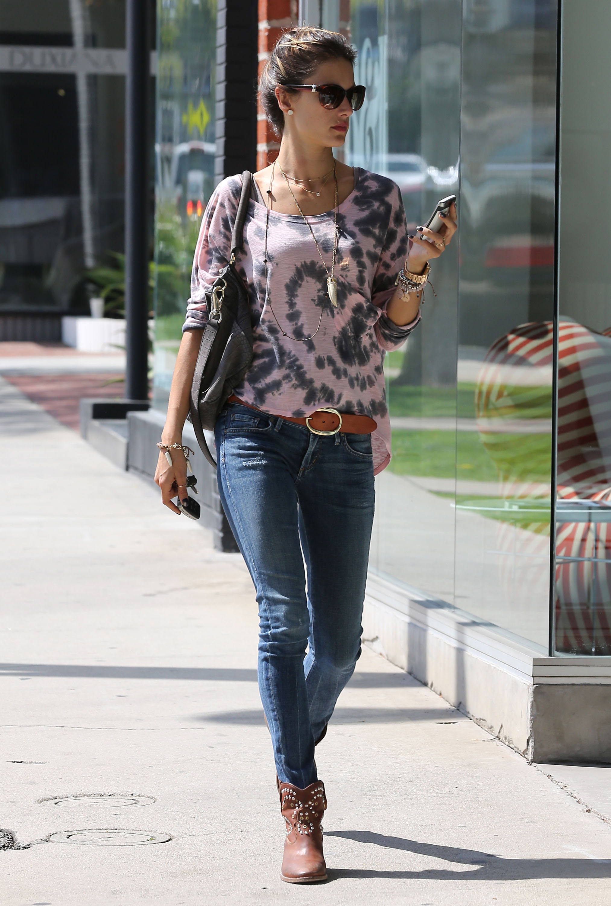 Get the Look: Alessandra Ambrosio's Casual Bohemian Style