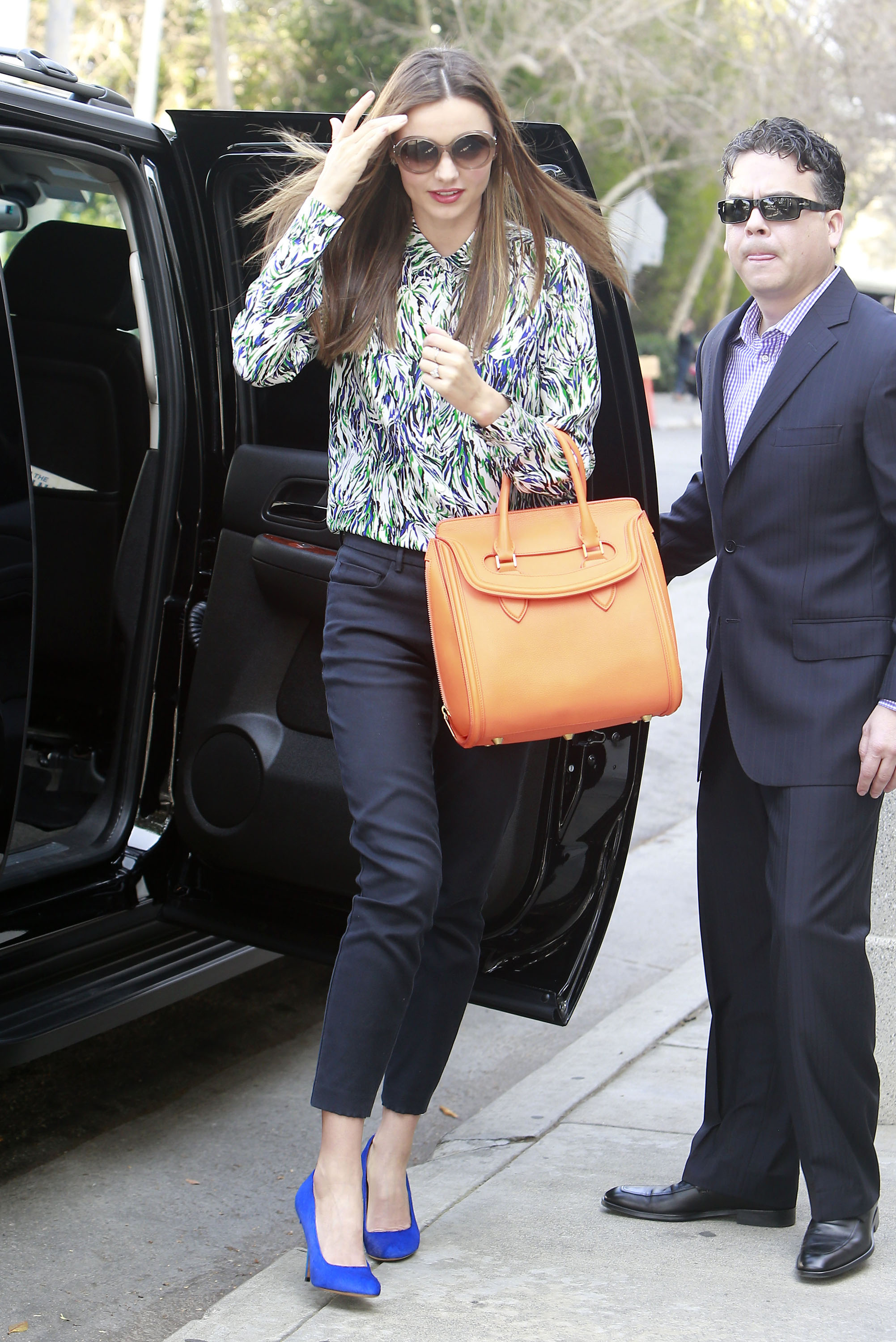 Get the Look: Miranda Kerr's Business Chic Style