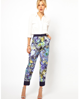 10 Floral-Print Pants for Spring