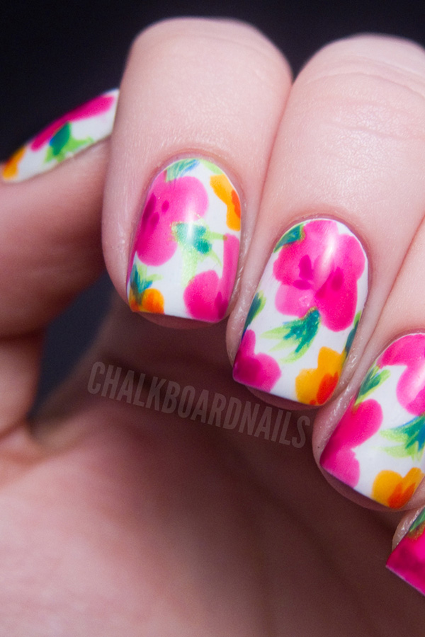 Our Favorite Floral Nail Looks