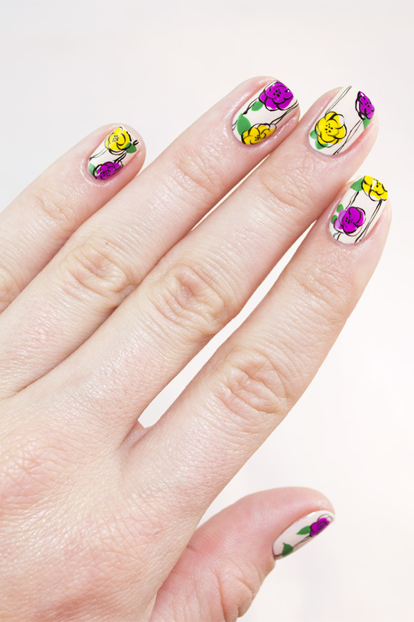 Freehand Fun: Floral Nail Art for Spring