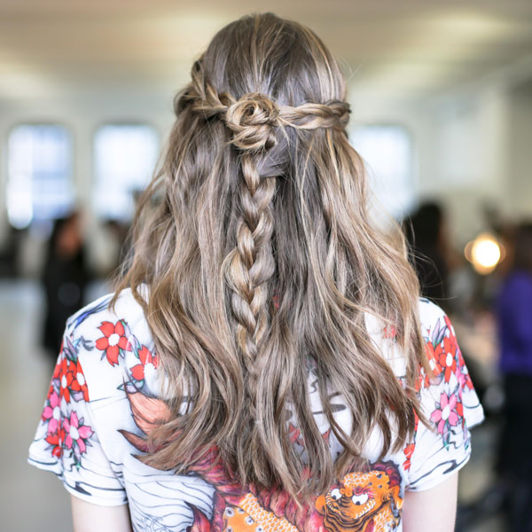 Runway to Real Life: Rodarte Braid from NYFW