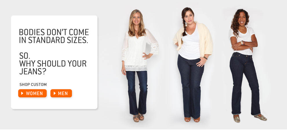 Win Custom Jeans Guaranteed to Fit You Perfectly!
