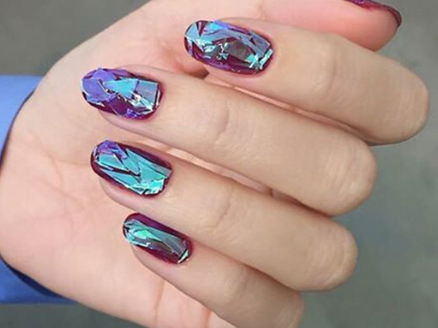 Glass Nails Are The Trend That Will Shatter All Your Expectations