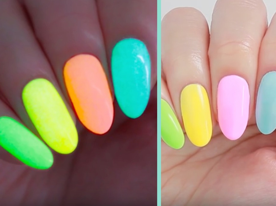 How To Make The Easiest DIY Glow-In-The-Dark Nail Polish Ever - More