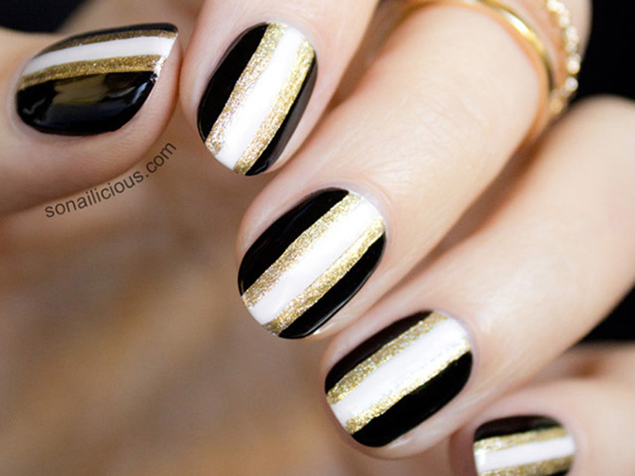 All That Glitters: Gold Nail Designs We Love