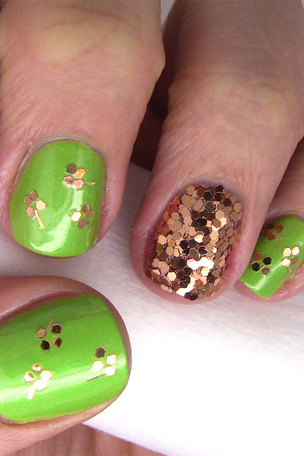 Lucky You: Shamrock-Inspired Nail Art for St. Patrick's Day