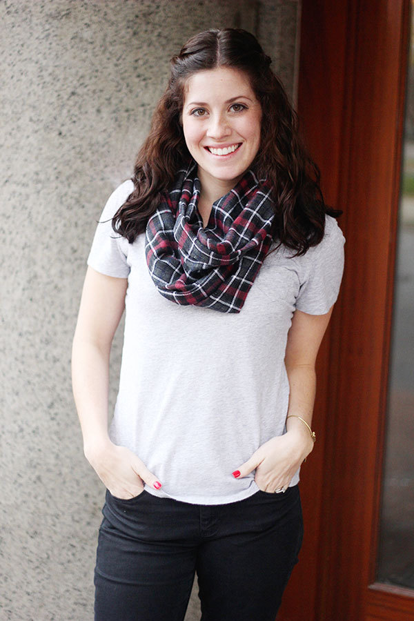 How To Create Your Own Cozy Infinity Scarf