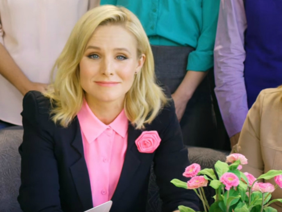 Kristen Bell Has A Message For Employers: Save Money And Hire More Women!