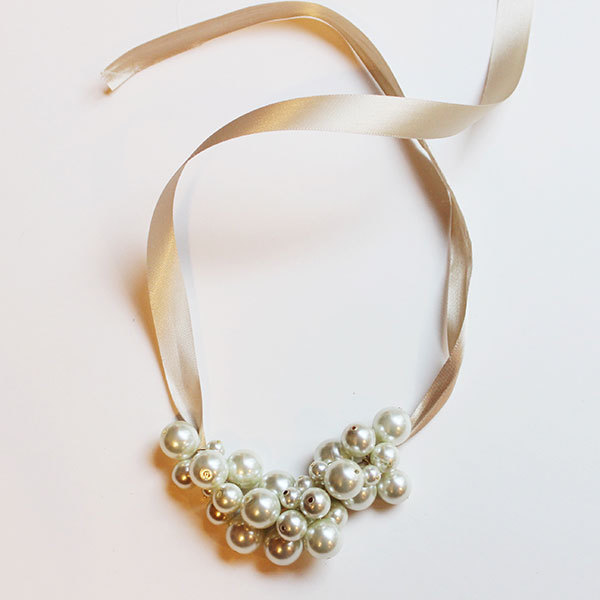 Make Your Own Pearl Cluster Necklace