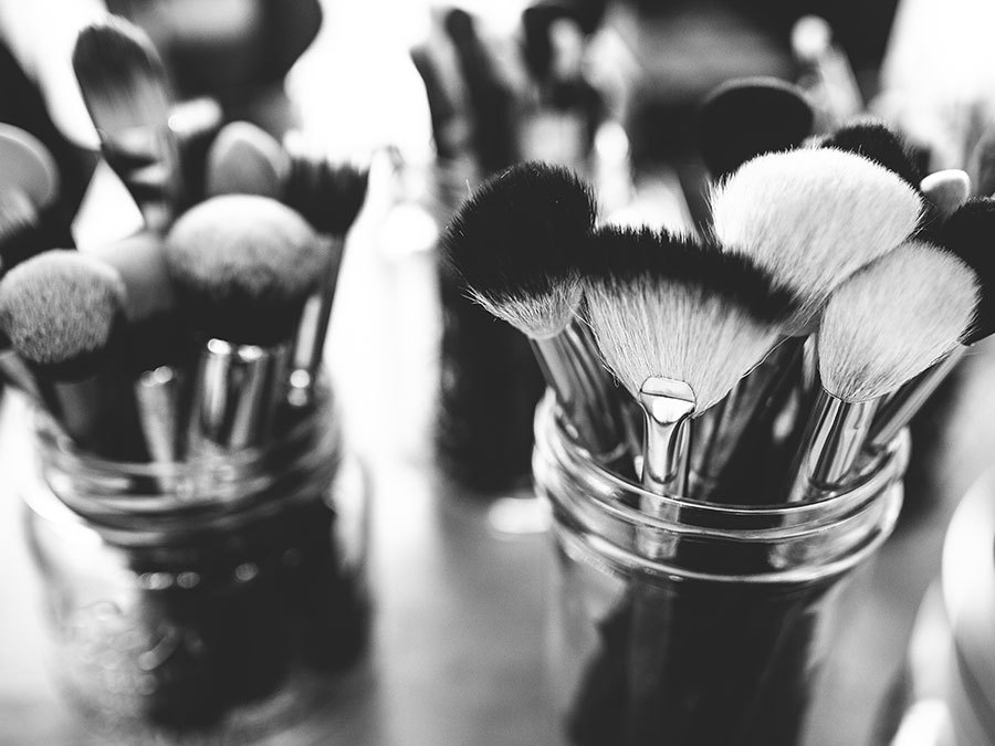 These Shocking Close-Up Images Of Makeup Brushes Will Make You Want To Clean Yours ASAP