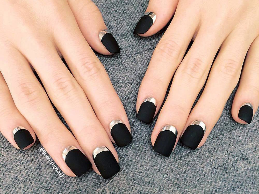 Amazing Matte and Chrome Nail Art Looks You Have to Try Right NOW