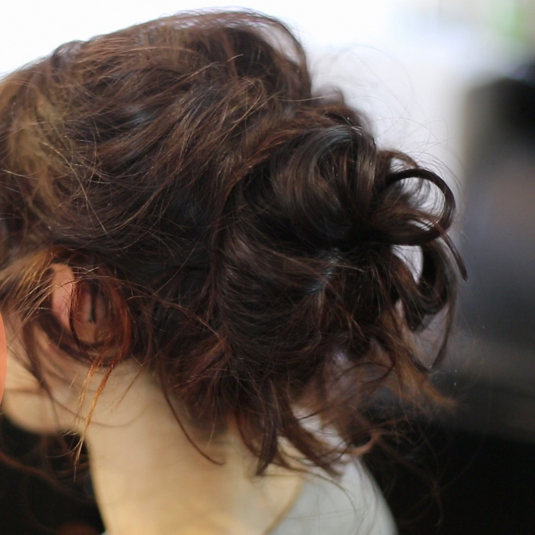 Hair How-To: Michael Kors Romantic Updo From NYFW