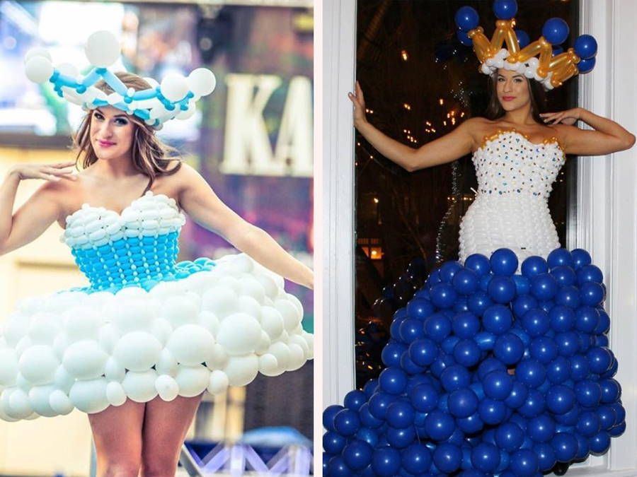 These Dresses Made From Balloons Will Blow Your Mind