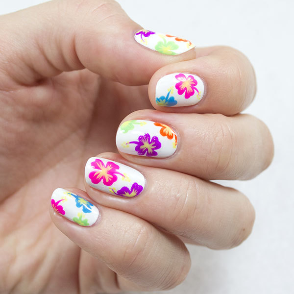Nail How To Totally Tropical Nail Design More