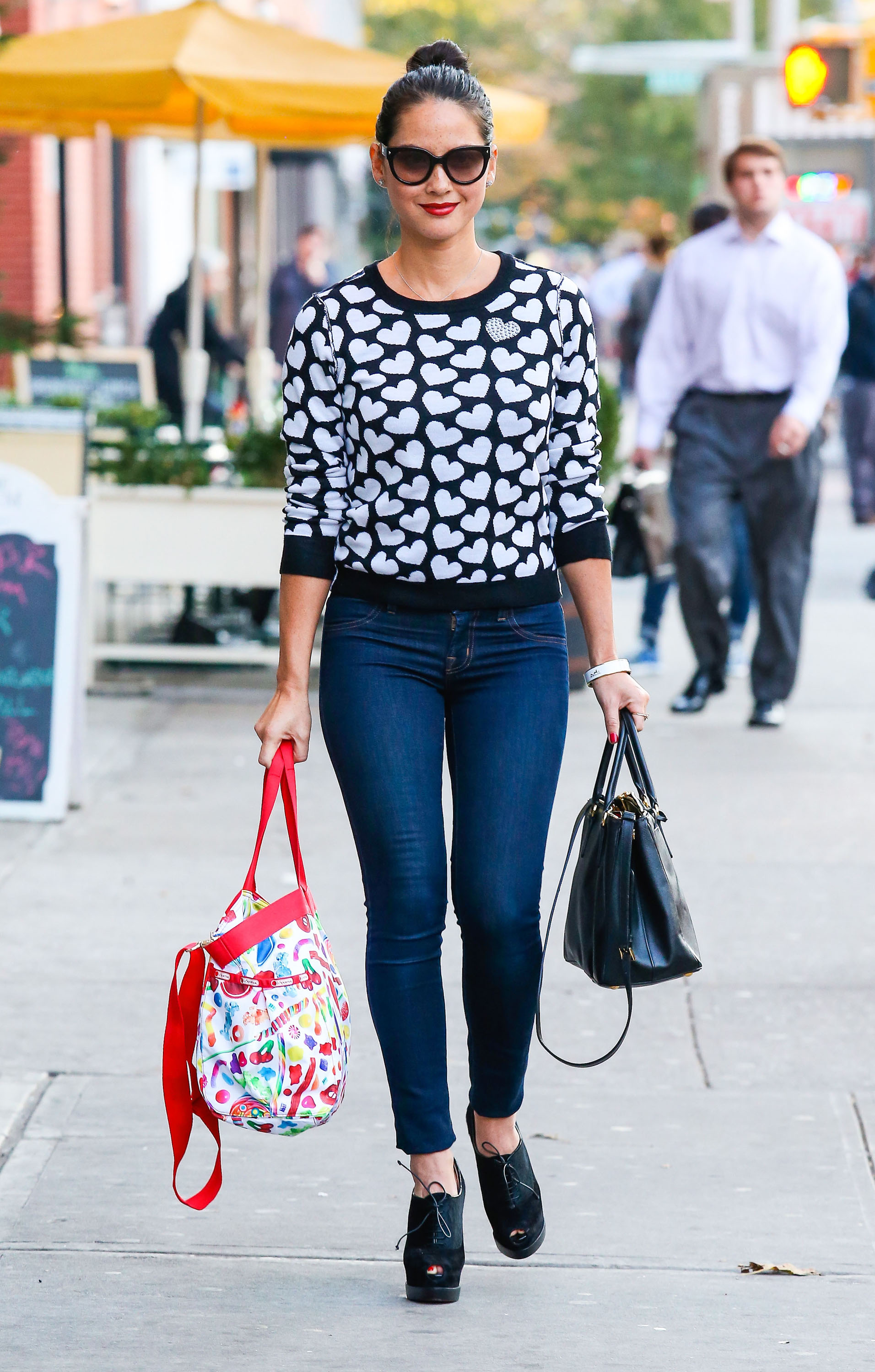 Get the Look: Olivia Munn's Pretty Printed Style
