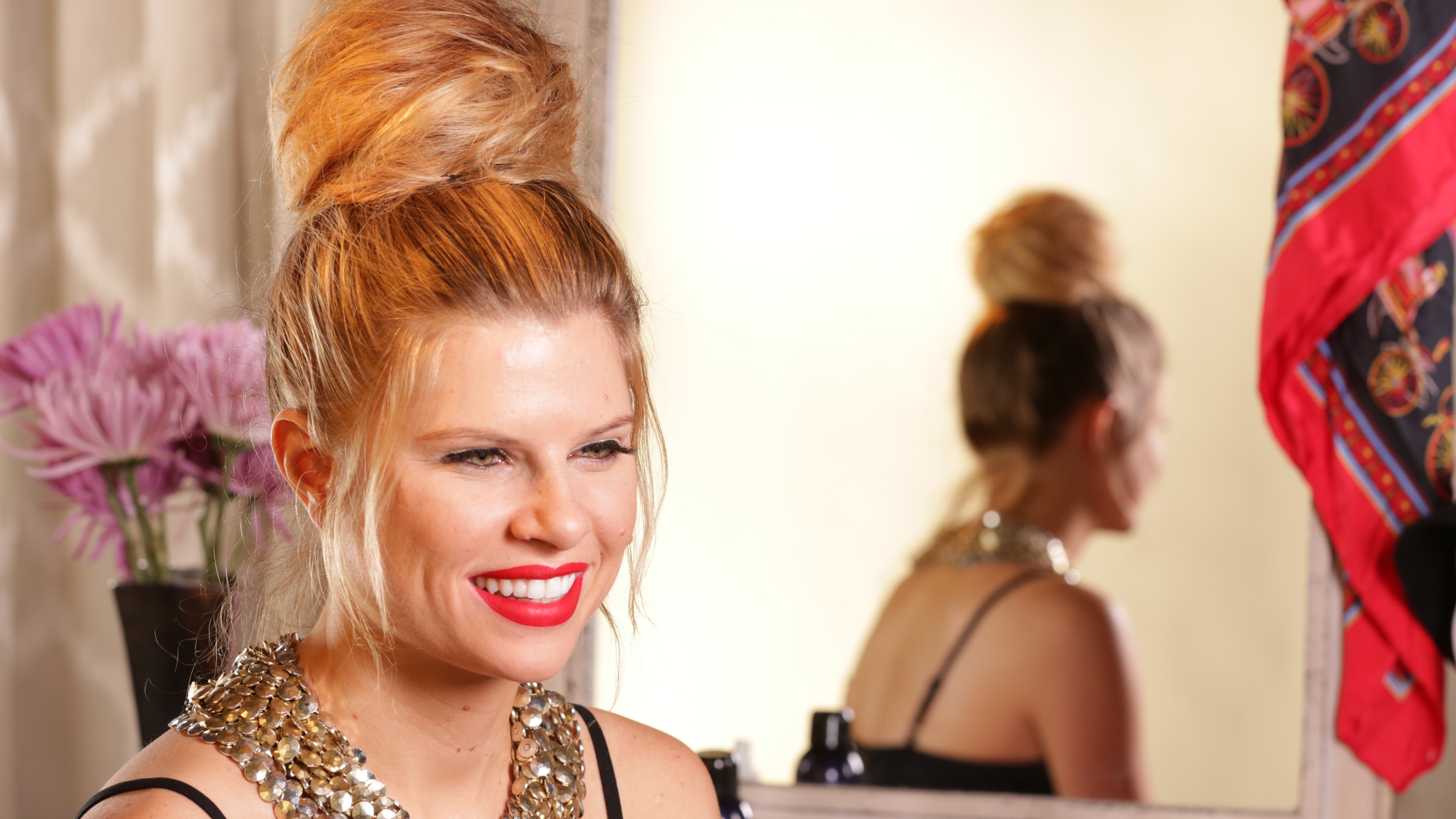 Hair How-to: Master the Perfect Party Bun
