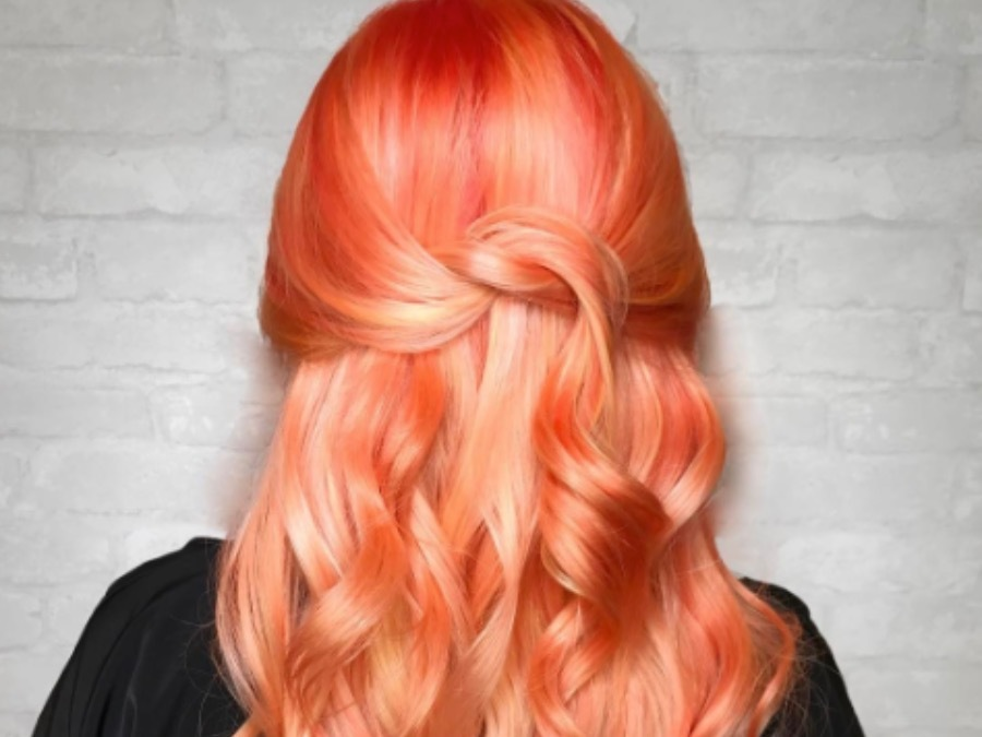 Tangerine Hair Is The Sweetest Color Trend For This Summer